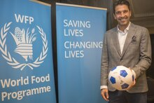 Photo: WFP/ Rein Skullerud, Gianluigi Buffon named Goodwill Ambassador of the United Nations World Food Programme