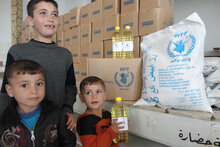 Government Partners Help WFP Resume Food Assistance To Syrian Refugees