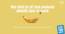 The United Nations World Food Programme launches a global movement to help fight food waste
