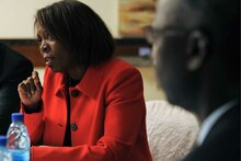 WFP Head Ertharin Cousin Praises G7 Aim To Lift 500 Million People Out Of Hunger