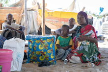 Displacement crisis driving up hunger rates in northern Mozambique as families flee violence