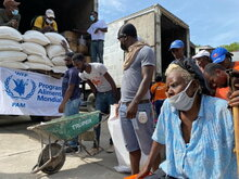 WFP boosts its ongoing support in Haiti as quake compounds miseries
