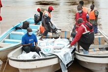 WFP compliments Kenya Government emergency response with food for 9,000 families