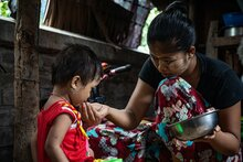 Funding gaps hampers WFP's lifesaving operations as hunger deepens in Myanmar