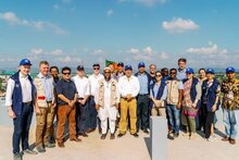 Photo: WFP/Mehedi Rahman, Executive Board visit to Cox's Bazar