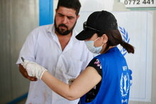 The Republic of Korea helps WFP provide assistance to conflict-affected families in Iraq