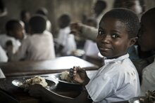 Fourth Africa Day of School Feeding celebrated in Abidjan, Cote d'Ivoire