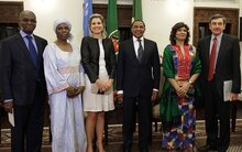 Financial Services For Rural Poor Vital,  Say Queen Maxima And Top U.N. Officials