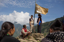 In Himalayan Village, WFP Raises Flag For Zero Hunger On Eve Of Global Goals