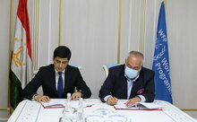 WFP and Tajik Committee for environmental protection launch a climate change adaptation project