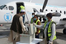 WFP air transport in Afghanistan - WFP/Jorge Diaz