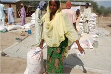 WFP Providing Food To Refugees Fleeing Violence In Nigeria