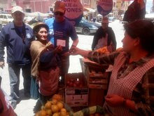 40,000 People Affected by Droughts Receive Food Assistance in Oruro