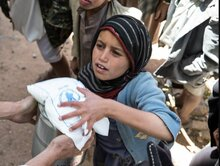 Humanitarian assistance continues to prevent a massive human catastrophe in Yemen but it is not enough
