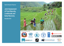 Nepal earthquake – early recovery household assessment (November 2015)