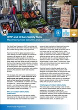 WFP and Urban Safety Nets