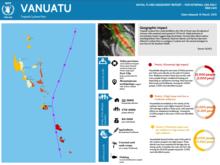 Vanuatu cyclone Pam – 72hrs assessment – release 0 (15 March 2015)