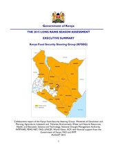 The Kenya 2015 Long Rains Assessment (LRA) Report