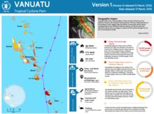 Vanuatu cyclone Pam – 72hrs assessment - release 1 (17 March 2015)