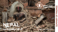 Nepal earthquake – rapid validation assessment – release 1 (1 May 2015)