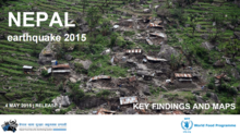 Nepal earthquake – rapid validation assessment – release 2 (4 May 2015)