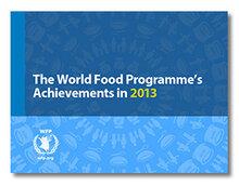 WFP Achievements in 2013
