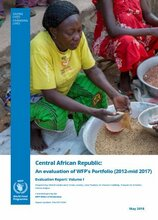 Central African Republic: An Evaluation of WFP's Portfolio (2012-2017)
