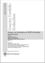 Yemen: An evaluation of WFP's portfolio (2006-2010)