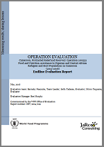 Cameroon PRRO 200552 Food and Nutrition Assistance to Nigerian and Central African Refugees and Host Populations in Cameroon: An Operation Evaluation