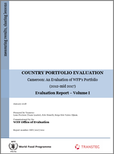 Cameroon: An Evaluation of WFP's Portfolio (2012-2017)