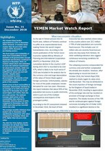 Yemen - Monthly Market Watch, 2018