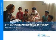 Turkey - Off-Camp Syrian Refugees in Turkey: A Food Security Report, April 2016