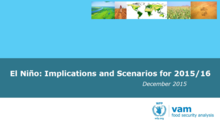 El Niño - Implications and Scenarios for 2015/16, December 2015