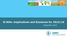 El Niño - Implications and Scenarios for 2015/16, December 2015