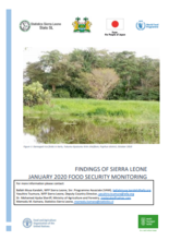 Findings of Sierra Leone Food Security Monitoring - Jan 2020