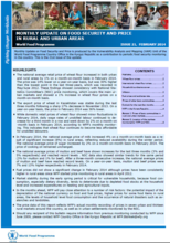 Kyrgyz Republic - Monthly Price and Food Security Update, 2014