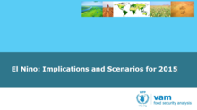 El Niño - Implications and Scenarios for 2015, September 2015