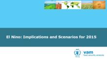 El Niño - Implications and Scenarios for 2015, September 2015