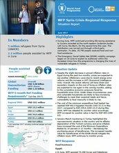 Situation Report -  Syria Crisis Regional Response