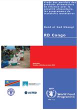 République Démocratique du Congo - Etude des marchés en lien avec les programmes de transfert monétaire dans les provinces du Nord et Sud Ubangi, April 2016