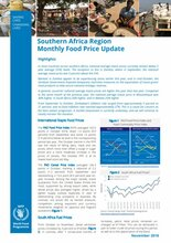 Southern Africa - Monthly Food Price Update, 2018