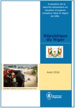 République du Niger - Evaluation de la sécurité alimentaire en situation d'urgence complexe dans la région de Diffa, Août 2016
