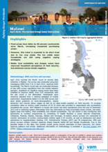Malawi - Bulletin #4: The harvest brings lower food prices, April 2016