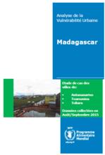 Madagascar - Analyse de la Vulnérabilité Urbaine, September 2016