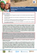 République du Tchad - Evaluation de la sécurité alimentaire et nutritionnelle en Situation d'urgence (EFSA), April 2016
