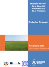Guinée Bissau - Enquête de suivi de la sécurité alimentaire et nutritionnelle, Novembre 2016