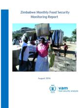 Zimbabwe - Monthly Food Security Monitoring, 2016