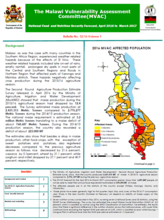 Malawi - Vulnerability Assessment Committee (MVAC): National Food and Nutrition Security Forecast: April 2016 to March 2017