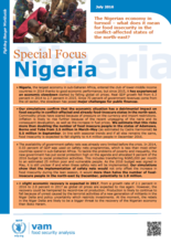 Nigeria - Special Focus: The Nigerian economy in turmoil what does it mean for food insecurity in the conflict-affected states of the north-east? July 2016