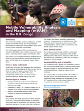 Mobile Vulnerability Analysis and Mapping (mVAM) in DRC